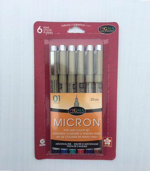 Micron Set six color