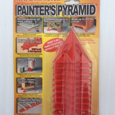 Painters Pyramid Red