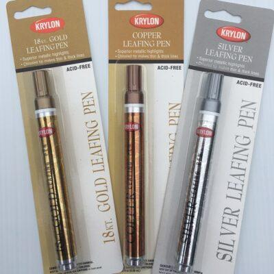 krylon® silver leafing pens