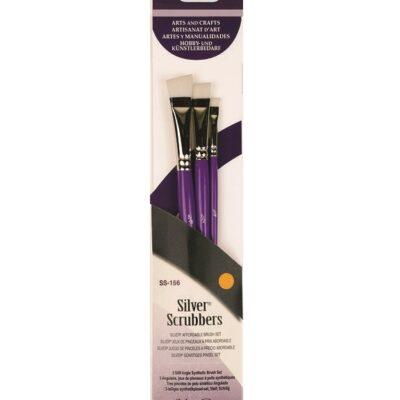 Silver Scrubber Angle Set