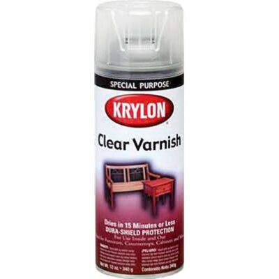 Krylon Spray Varnish